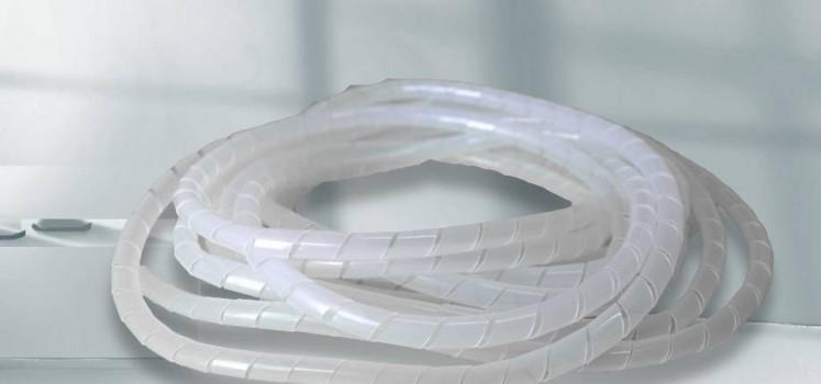 透明绝缘耐磨PE缠绕管