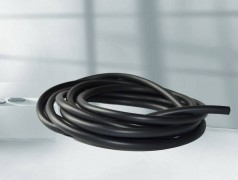 黑色PVC树脂管