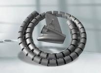 灰色配夹理线器