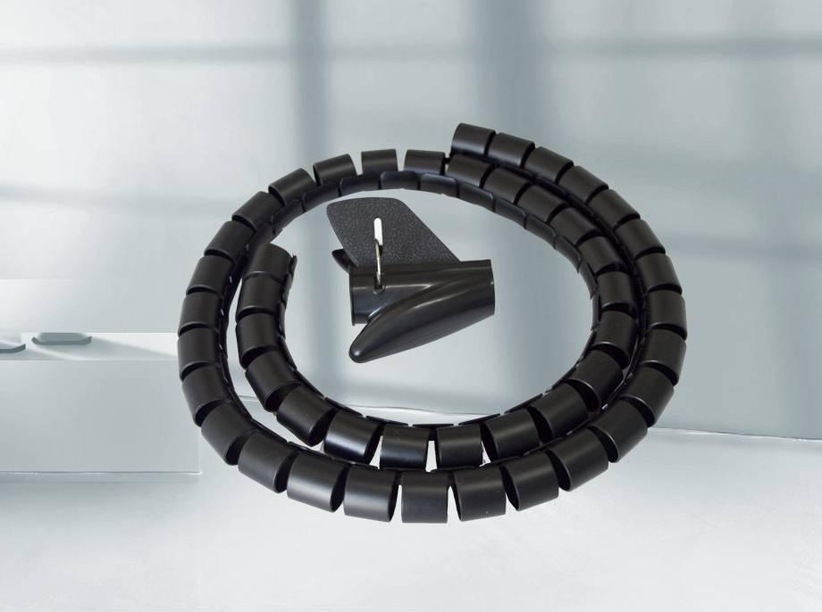 PE黑色配夹理线器 1