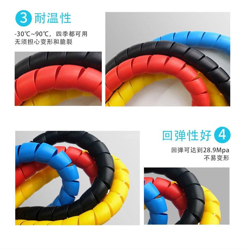 空调管防晒螺旋保护套 4
